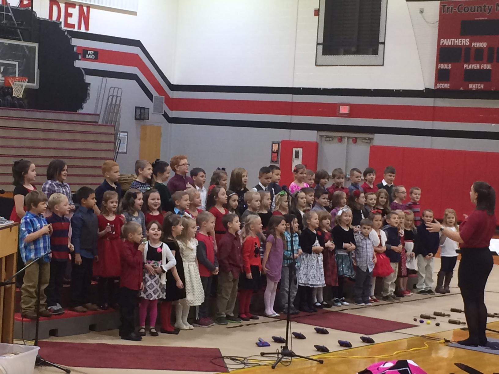 Kindergarten Christmas Program