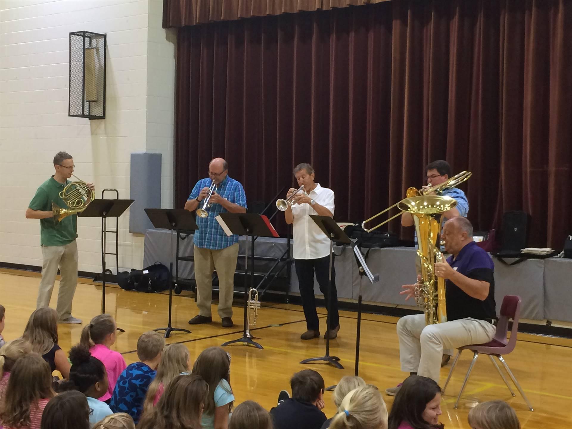 Dayton Philharmonic Brass Quintet
