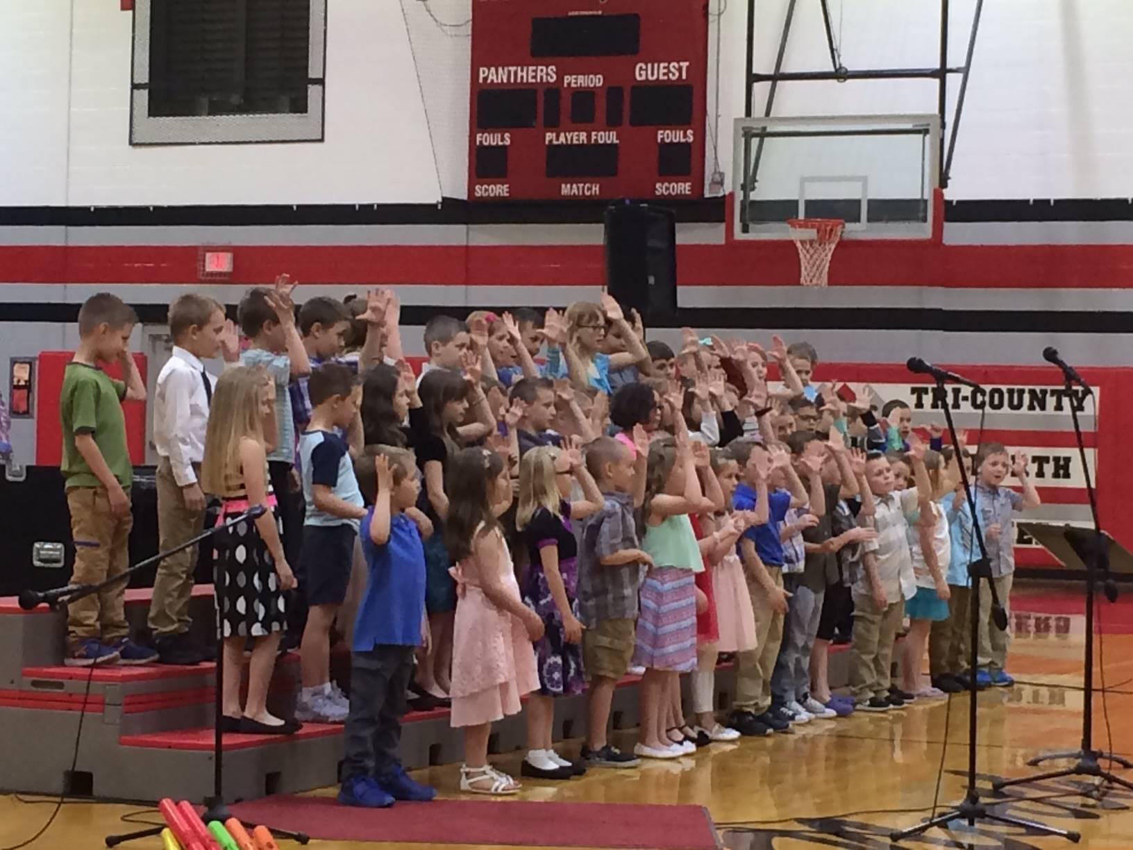 Kindergarten Spring Music Program