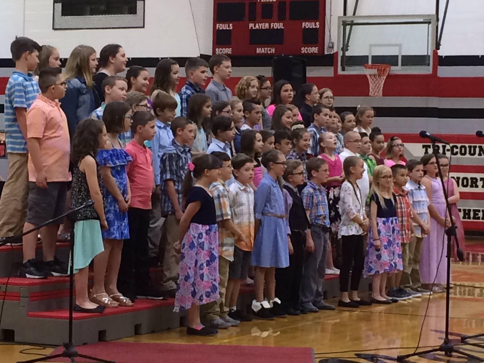 4th Grade Spring Music Program