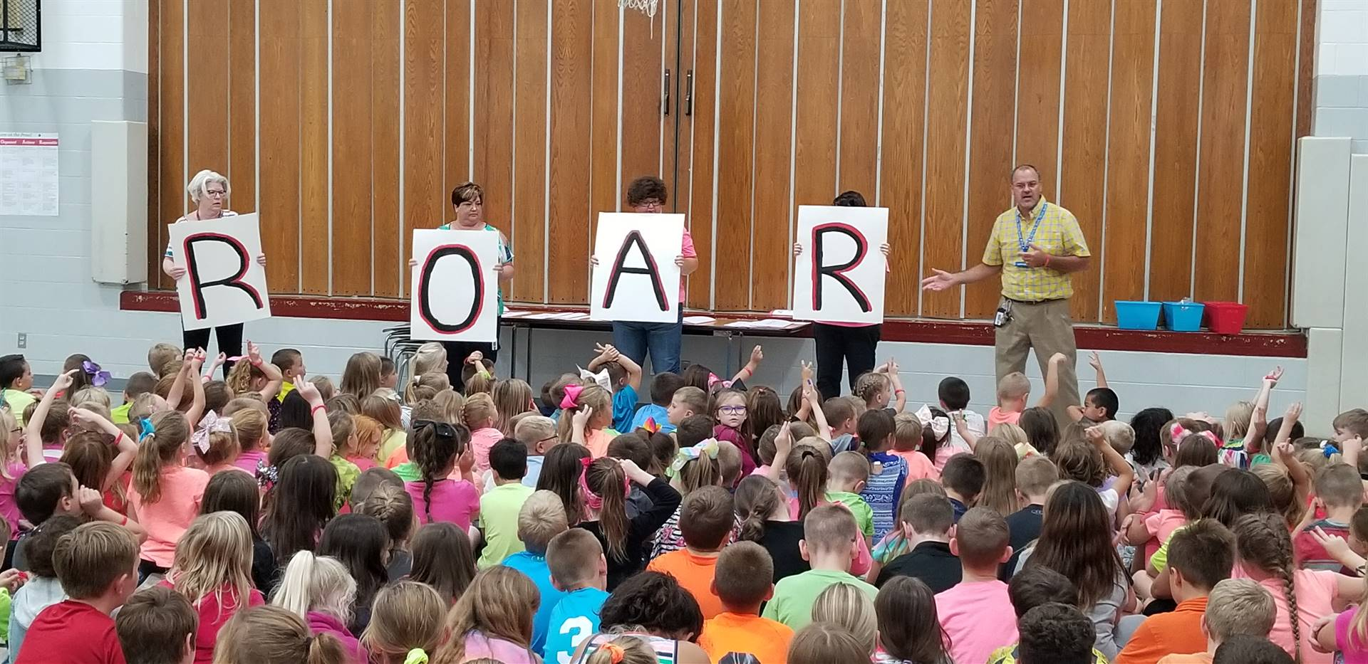 ROAR - Respectful, Organized, Achieve, Responsible